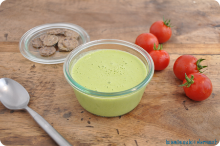 Veloute courgette3