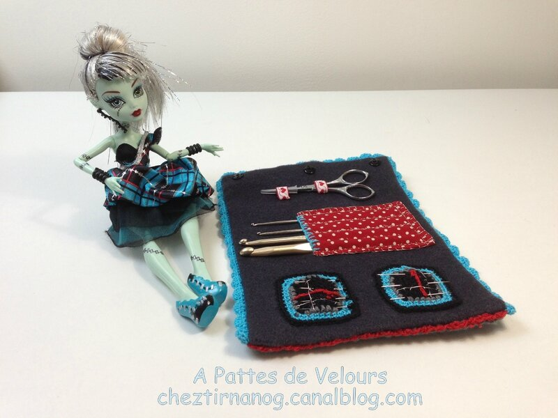 Trousse Monster high couture