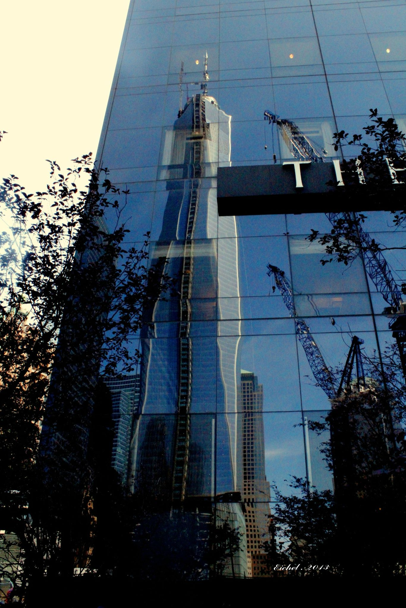 New-York (Mémorial du 11 septembre 2001, imaginer l'avenir)