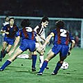 19 septembre 1984 METZ-BARCELONE ... COUPE DES COUPES