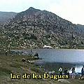 En joëlettes aux lacs du carlit 2200 m – pyrénées orientales
