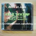 CD japonais Avril Lavigne Bonez Tour 2005-I Had My Wake Up