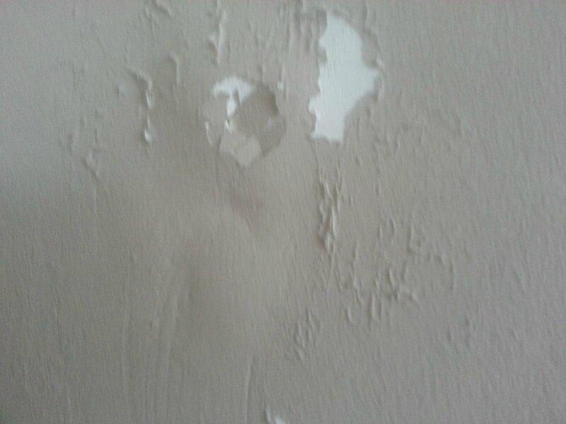 murs abimés