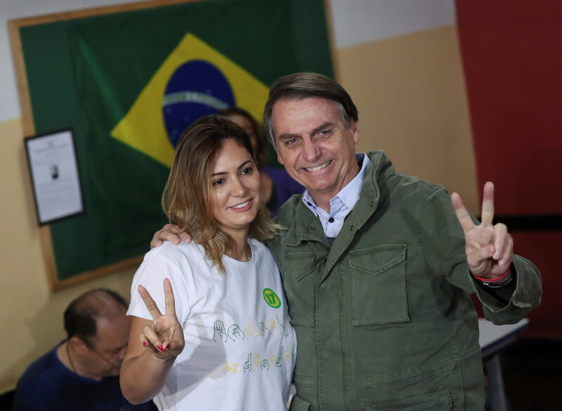 Bolsonaro-And-Wife