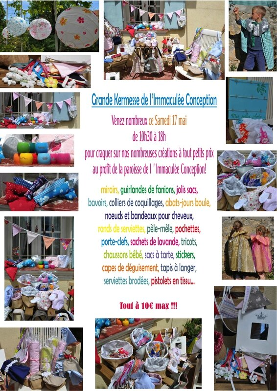 invitation Kermesse Immac