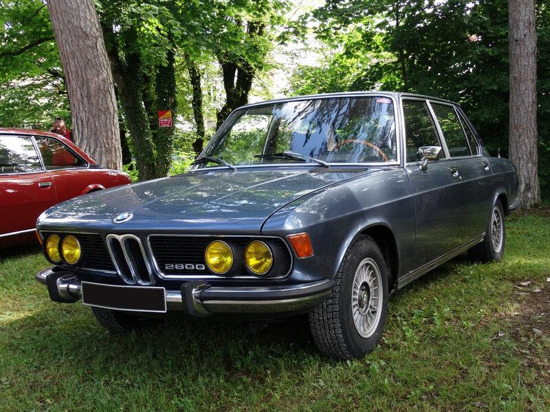 BMW 2800 type E3 berline 4 portes Lons le Saunier (1)