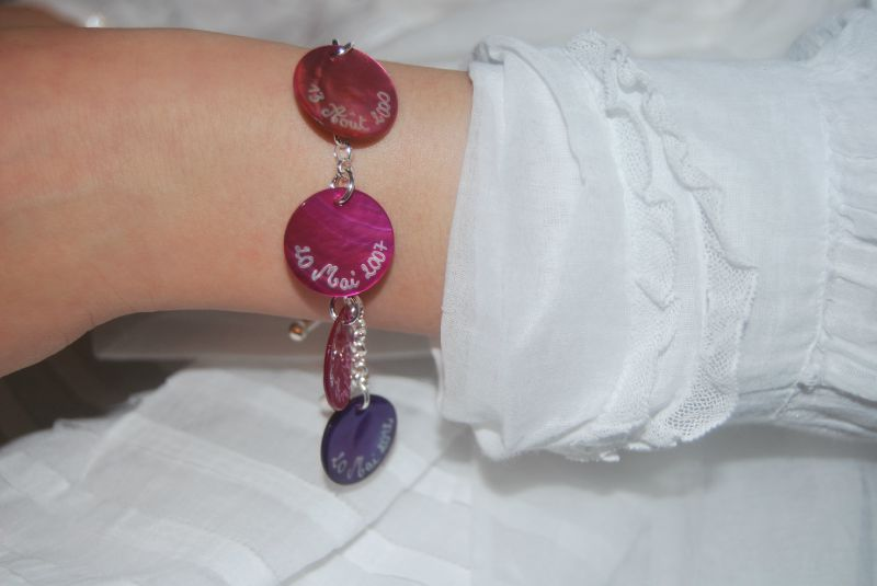 Le bracelet de Communion de Mathilde