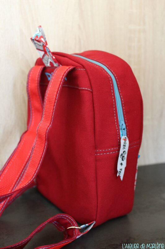 sac a dos rouge 2