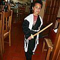 déguisement BLEACH capitaine Bakuya 8 ans