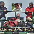 Vélo-rail d'allanches - cantal