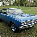 Chevrolet chevelle ss hardtop coupe-1967