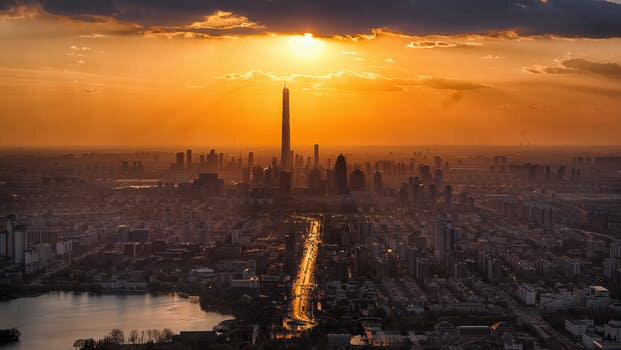 tianjin-twilight-city-scenery-366283