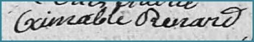 RENARD Bonne Aimable Victoire - 1847