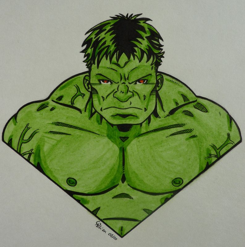 Avengers : Hulk - Les dessins de Gadrien