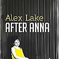 After anna de alex lake
