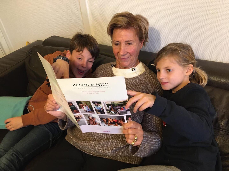 Cadeau pour parents/gds-parents : Neveo, le journal photo mensuel de votre famille