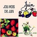 Juin un joli mois