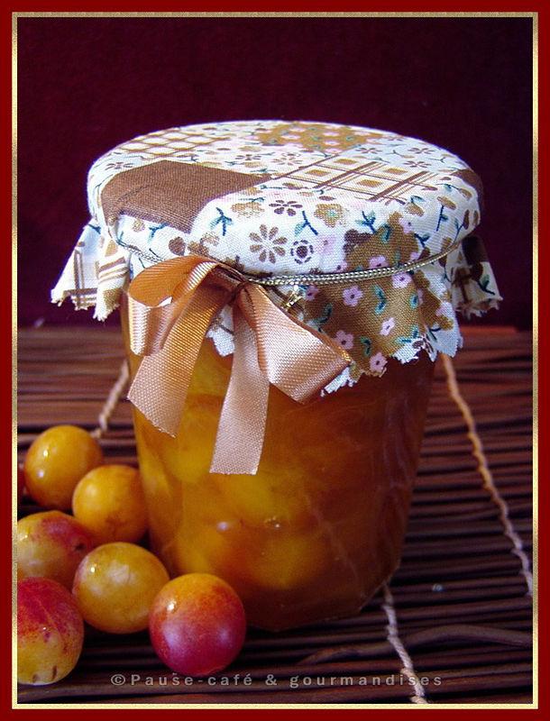 Confiture De Mirabelles Pause Gourmandises