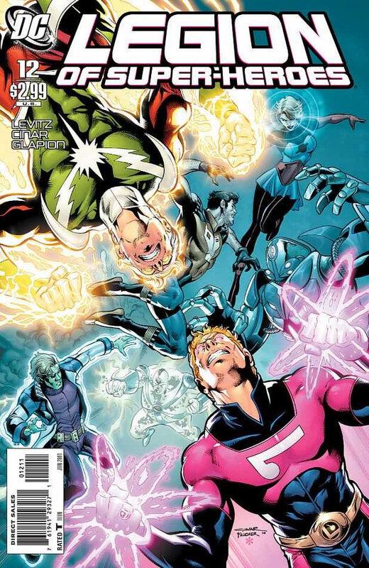 legion of super-heroes 2010 12