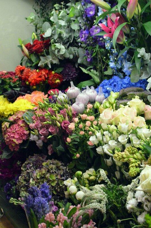 fleurs Londres