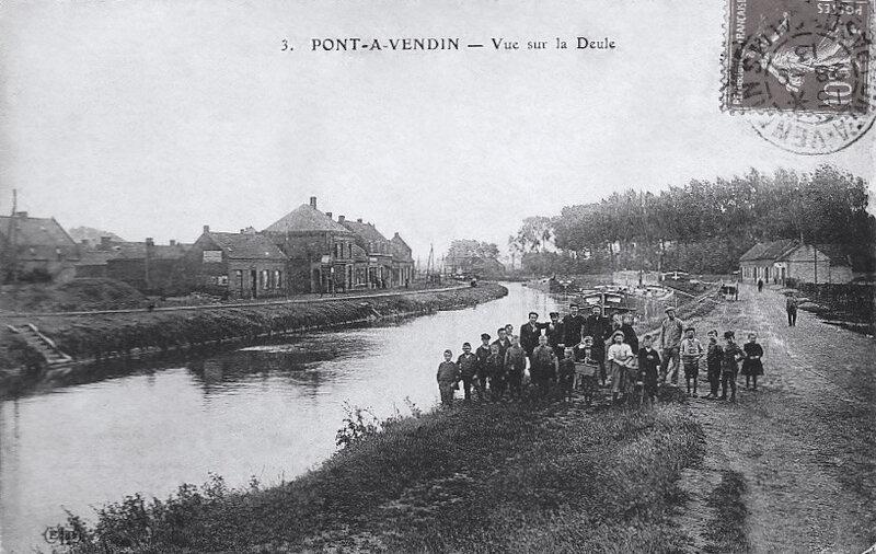 Pont-à-Vendin, la Deule