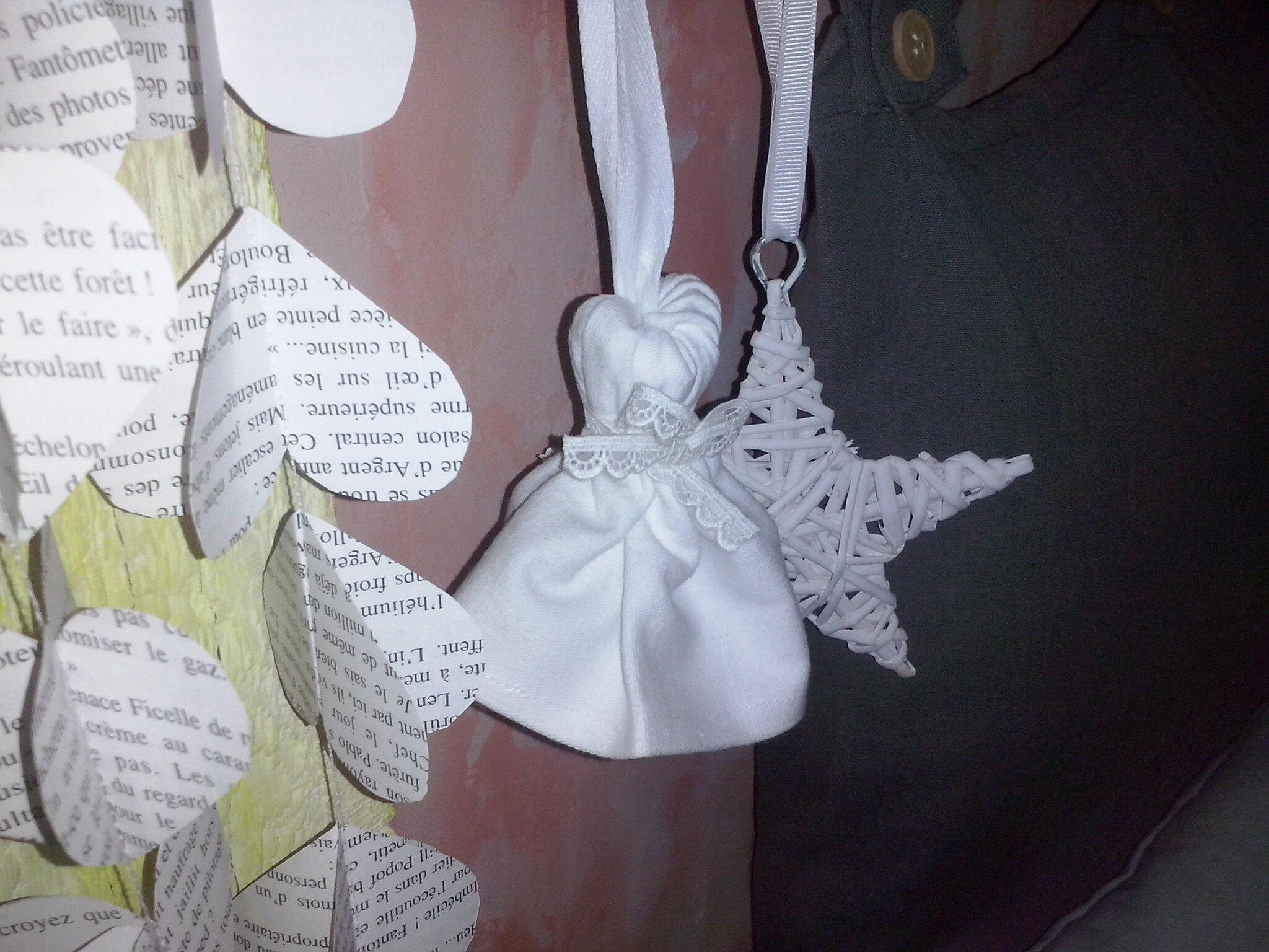 Pompon tissu