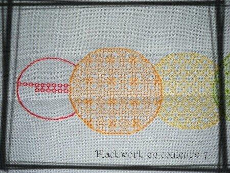 Blackwork en couleurs 7