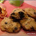 Cookies au potimarron et aux pépites de chocolat