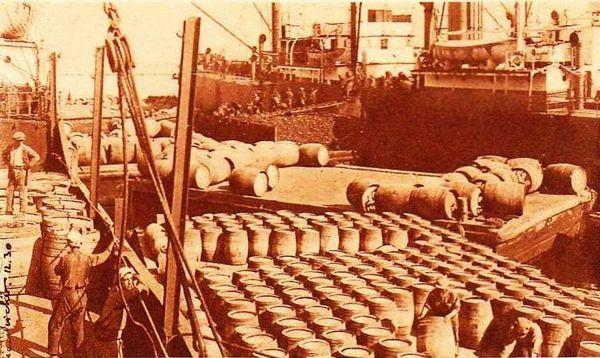 Oran- 057- travail sur les quais