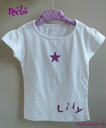 tee shirt CUSTOMISE KIS GIN - OCTOBRE 2011
