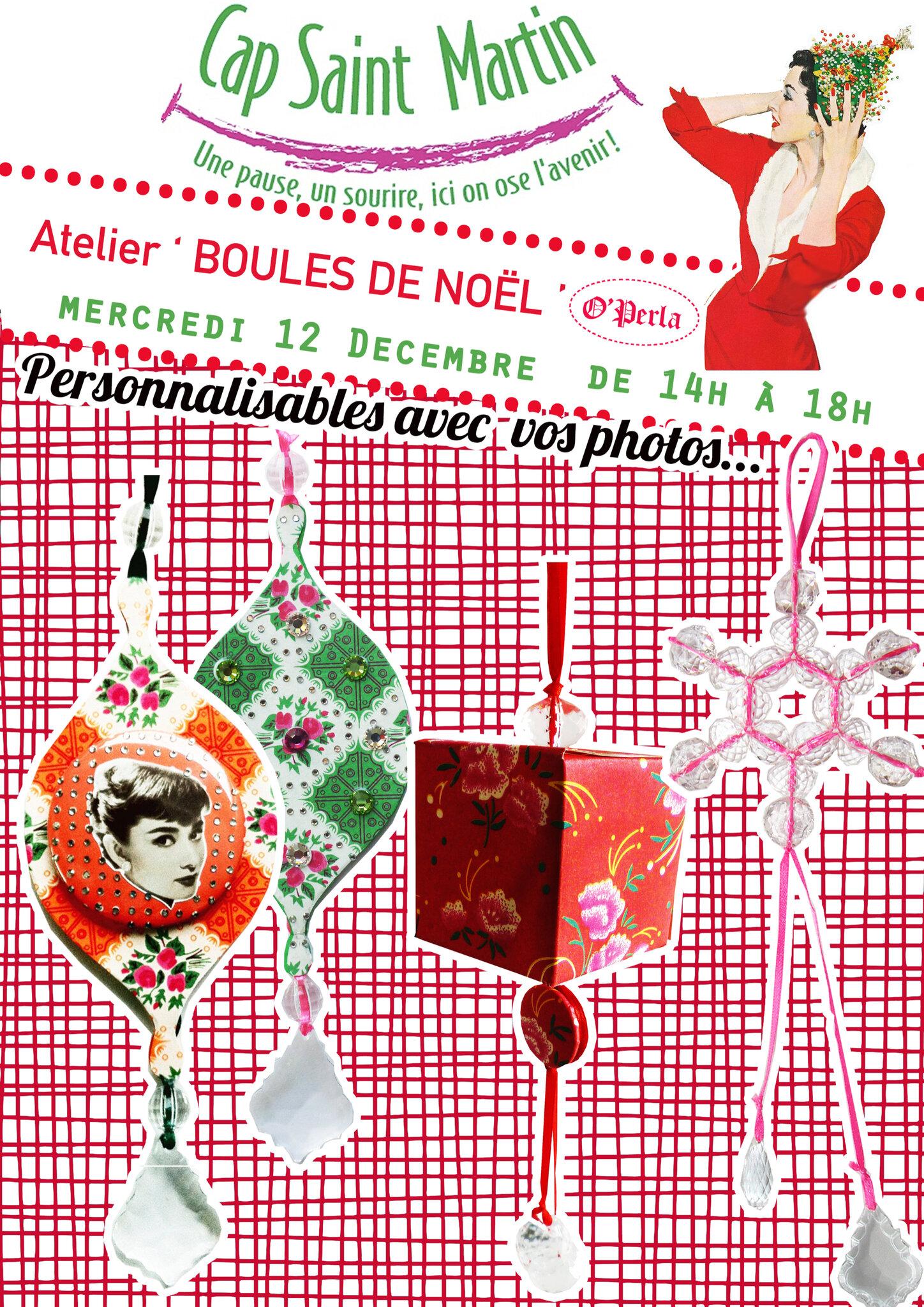 Derniers ateliers pour préparer Noël en Bourgogne...