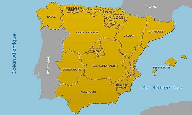 Espagne provinces
