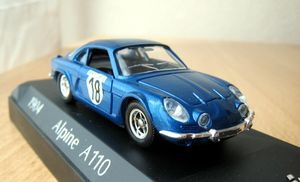 Alpine A110 berlinette 1973 01 -Solido-