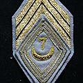 7e RTA Losange de bras de sergent