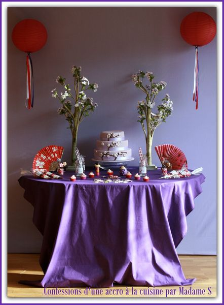 Sweet tables Sakura et Kokeshi 001