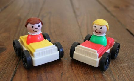 voiture-Fisher-Price