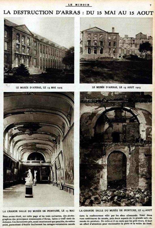 Arras le mirroir 1915