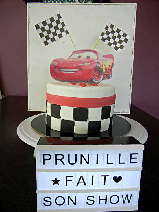 gateau cars prunillefee 1