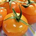 Tomates cerises farcies au fromage frais