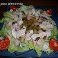 Salade de pommes de terre et cervelas