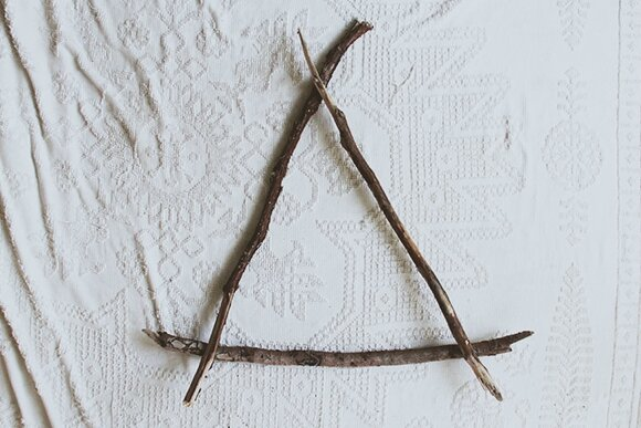 Triangle-driftwood