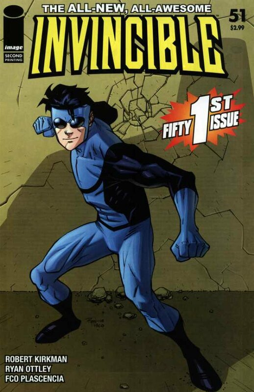 invincible 51 2nd print