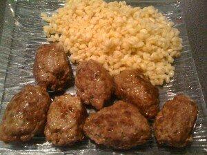 boulettes de viande à la sicilienne!!