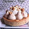 Tartelette caramel - café