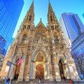 La cathédrale saint-patrick à new york
