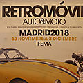 001 - Retromovil Madrid 30 nov....2 déc. 2018