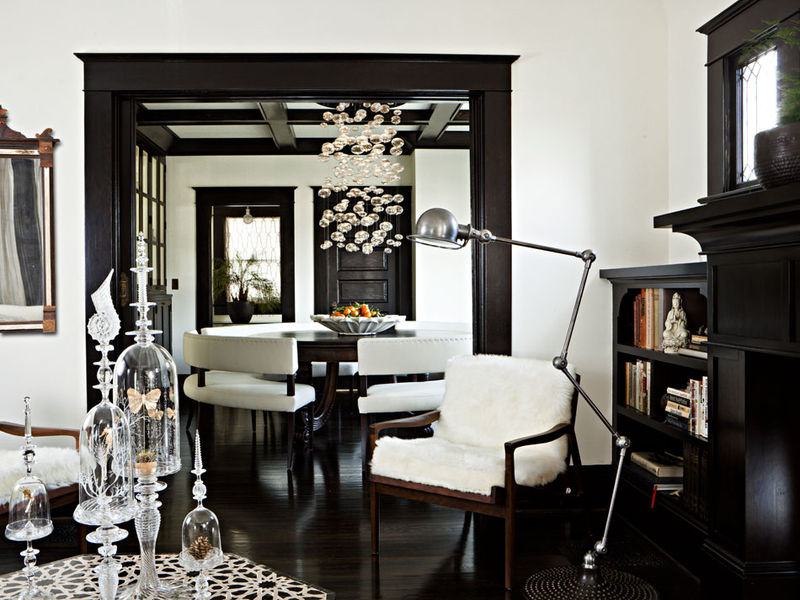 en noir et blanc sonia saelens d co. Black Bedroom Furniture Sets. Home Design Ideas