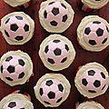 Olympique Lyonnais Cupcakes
