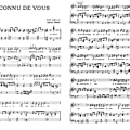 J'ai connu de vous - charles trenet (partition - sheet music)
