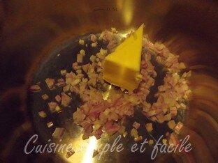 pavé de saumon sauce crevettes 02